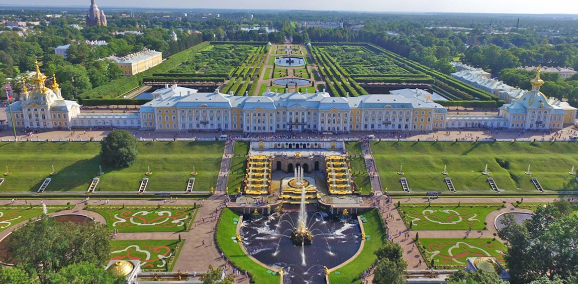 The Peterhof Grand Palace and Gardens