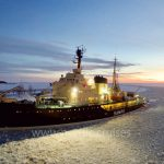 Icebreaker Sampo in the Gulf of Bothnia