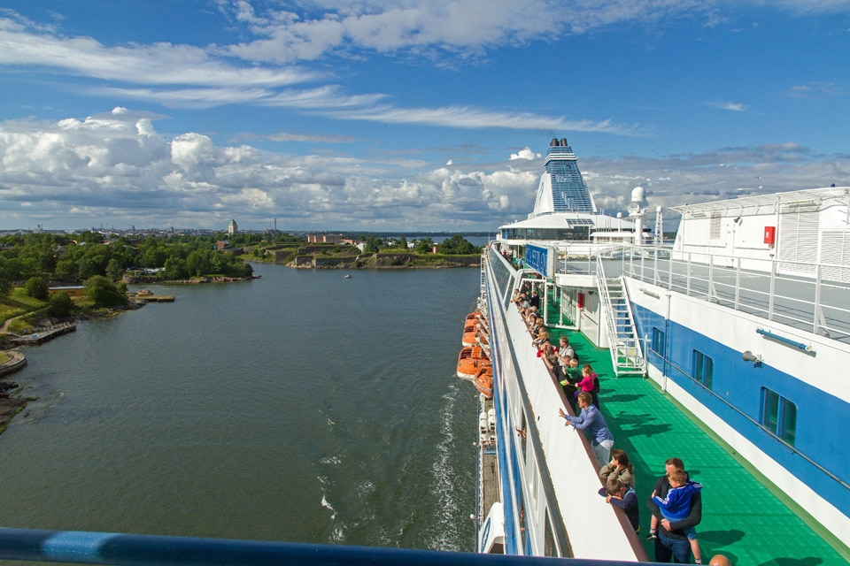 Cruise from Helsinki to Stockholm