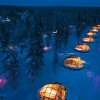 Lapland tours: Glass Igloo Village
